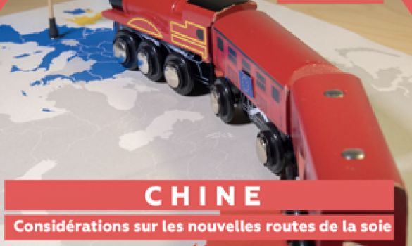 Train-jouet reliant la Chine à l'Europe